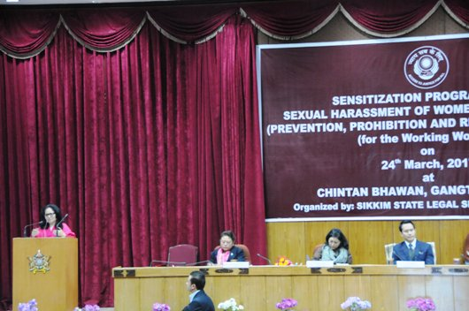 Sensitization Programme on Sexual Harassment of Women at Workplace (Prevention, Prohibition & Redressal) Act,2013 (for the Working Women)