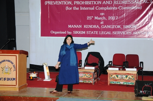Sensitization Programme on Sexual Harassment of Women at Workplace (Prevention, Prohibition & Redressal) Act,2013 (for the Internal Complaint Committee)