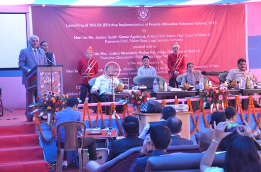 Launching of NALSA(Effective Implementation of Poverty Alleviation Schemes)Scheme, 2015