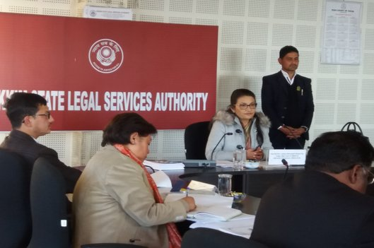 Annual Meeting of the Sikkim State Legal Services Authority was held on 29.12.2018 in the conference hall of Sikkim SLSA, Gangtok