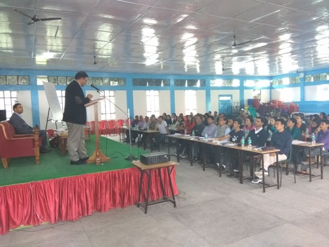 Training Programme for Teachers of the schools of East & North Districts of Sikkim teaching Lessons in Law for classes IX & XI on 27th & 28th May,2017
