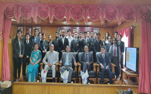 DEBATE COMPETITION ON 'WHETHER IT IS APPROPRIATE TO BRING BACK RIGHT TO PROPERTY INTO THE DOMIAN OF FUNDAMENTAL RIGHTS UNDER ARTICLE 19(f) OR SHOULD ONLY BE RECOGNIZED AS A LEGAL RIGHT AS PROVIDED UNDER ARTICLE 300A OF OUR CONSTITUTION' ON  29th SEPTEMBER, 2018 AT AUDITORIUM, HIGH COURT OF SIKKIM