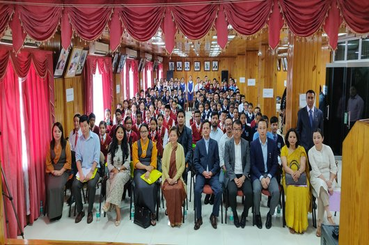 LECTURES ON THE IMPORTANCE OF FUNDAMENTAL DUTIES AS ENVISAGED IN ARTICLE 51A OF THE CONSTITUTION OF INDIA FOR THE LEGAL LITERACY CLUBS IN SCHOOLS BY SIKKIM SLSA was held on 04th August, 2018 AT AUDITORIUM, HIGH COURT OF SIKKIM.