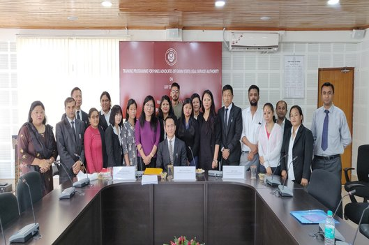 Training Programme for Panel Advocates and members of the Bar on 20th July, 2019 as per the Training Module of NALSA, at the Conference Hall of Sikkim SLSA at Development Area, Gangtok.