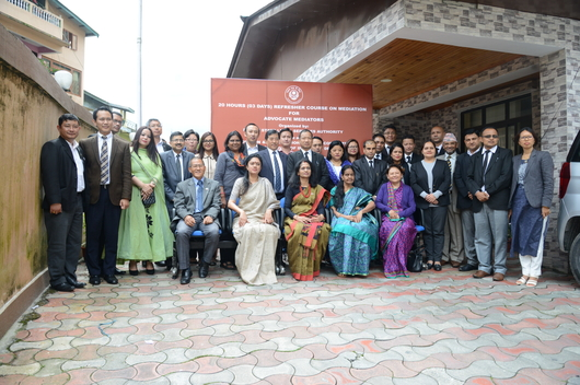 20 Hours (03 Days) Refresher Course on Mediation for Advocate Mediators was held on 5th-7th July, 2018 at Conference Hall, Sikkim SLSA