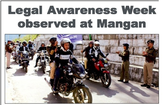 Legal Services Week observed at Mangan, North Sikkim