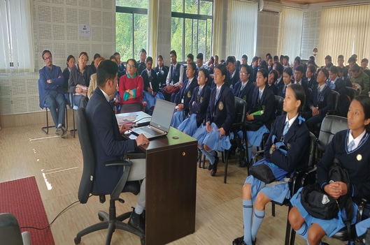 Observation of 'Constitution Day' on 26.11.2019 at the office of Sikkim SLSA
