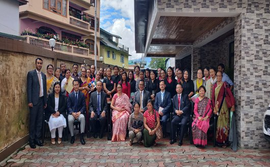 STATE MEET OF PARA-LEGAL VOLUNTEERS AND COMMENDATION FOR BEST PARA-LEGAL VOLUNTEERS HELD ON 22nd SEPTEMBER, 2018 AT CONFERENCE HALL OF SIKKIM SLSA