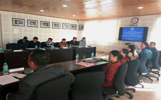 Meeting of Sikkim SLSA with the Prison Authorities, Counselors of Rehabilitation  Centres of Sikkim and Psychiatrists of STNM and Sikkim Manipal Institute of Medical Sciences