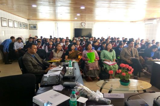 Legal Awareness Programme on Discourses on Road Safety/ Anti-Ragging/ Drug Abuse & Prevention of Children from Sexual Offences (POCSO) Act, 2012 held on 21.04.2018 at Conference Hall of Sikkim SLSA