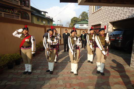 Celebration of Republic Day on 26th January, 2018
