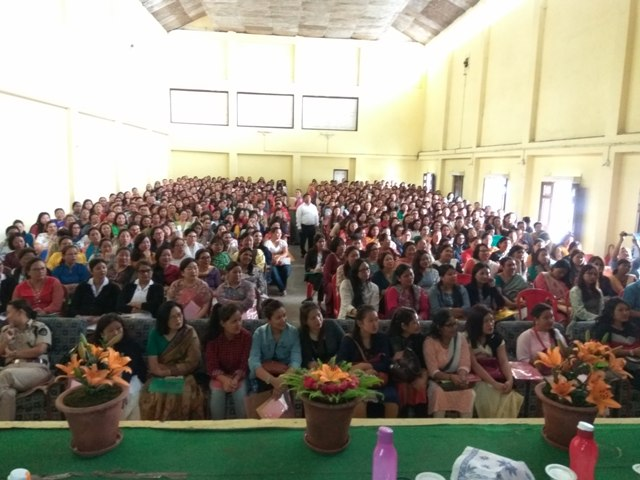 Sensitization Programme on Sexual Harassment of Women at Workplace held at South Sikkim on 22nd to 24th May, 2017